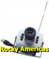 rocky americas products wired wireless surveillance security cmos wireless micro camera 208c color