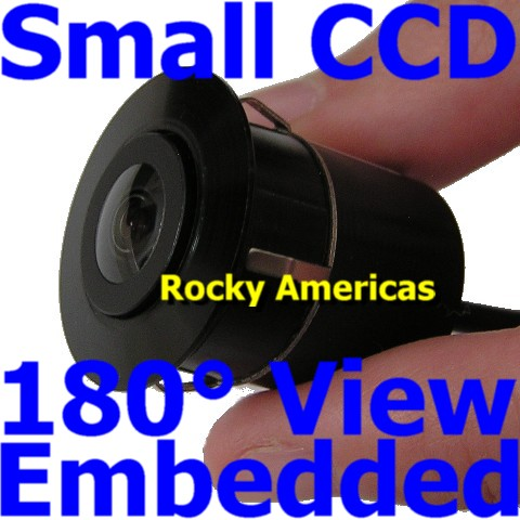 CCD  Embedded Mount Rear View Camera