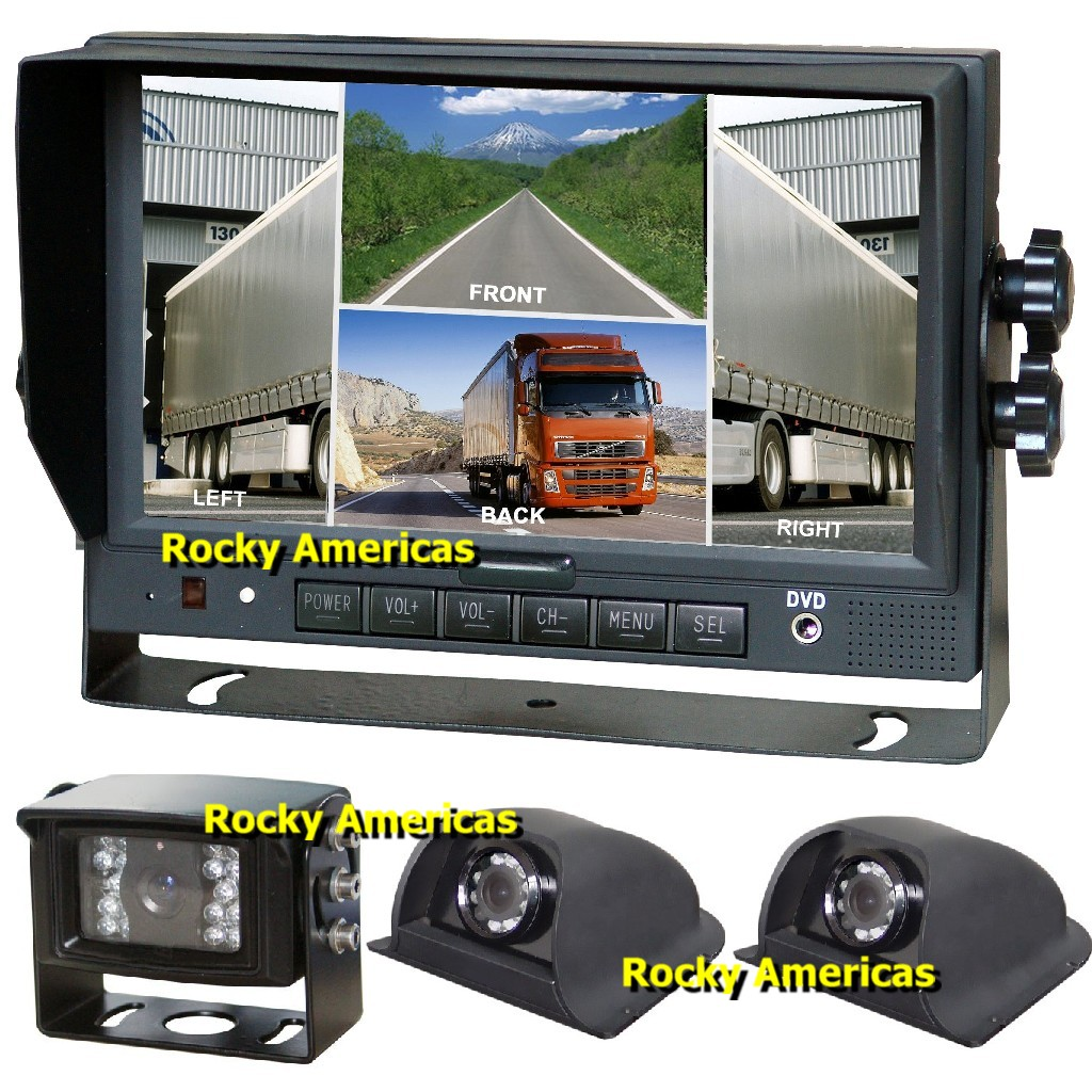 Rear View Camera System >> Rocky Americas Complete Vehicle Rear View Backup System